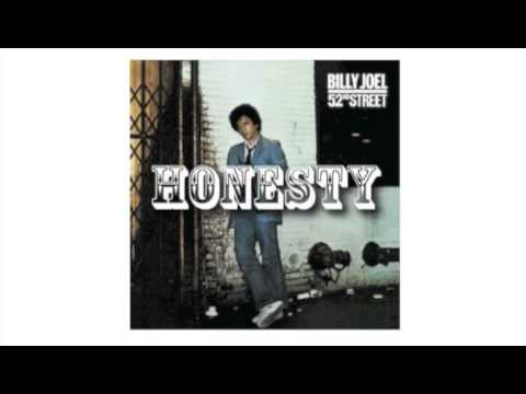 Honesty - Billy Joel (歌詞・和訳付) - YouTube