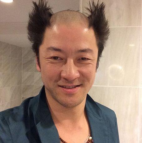 男性芸能人の髪型、似合っていたら+を押すトピ