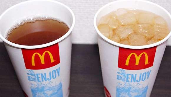 【徹底比較】ファストフード店の「氷抜きドリンク」は「氷あり」より多いのか? 少ないのか? | ロケットニュース24