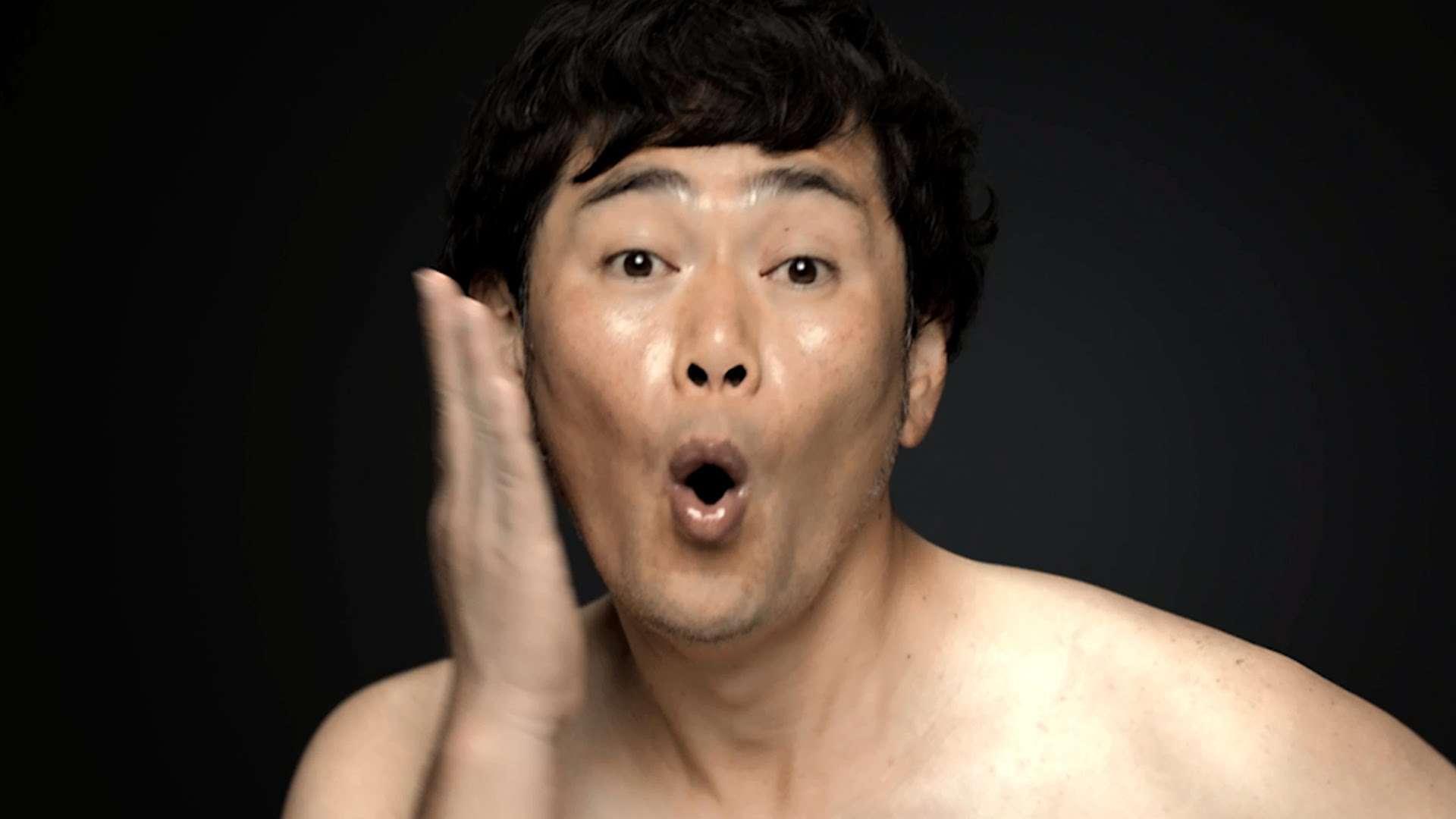 ココリコ遠藤、ライザップで肉体改造宣言 減量前のぽっちゃりお腹を披露 RIZAP新TVCM「宣言編」撮影風景 - YouTube