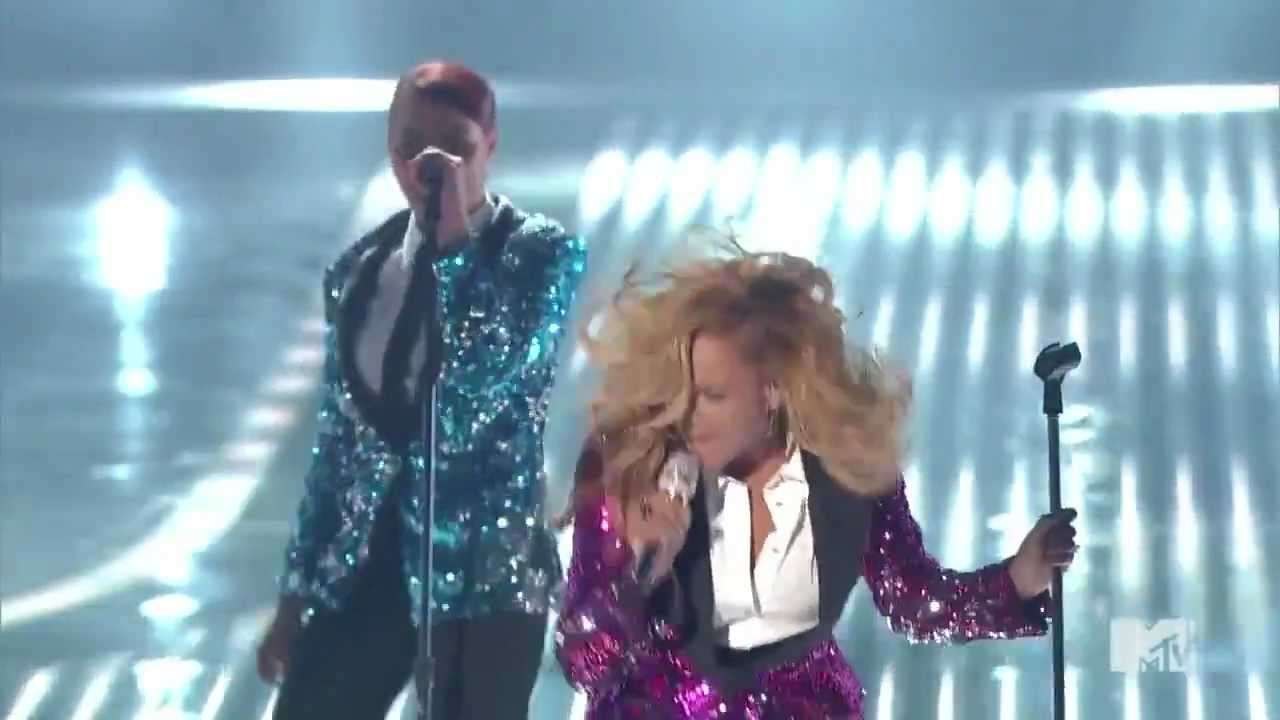Beyonce- Love on Top mtv live - YouTube