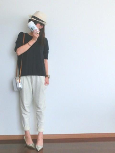 ジョガーパンツを履きこなせている方いますか?