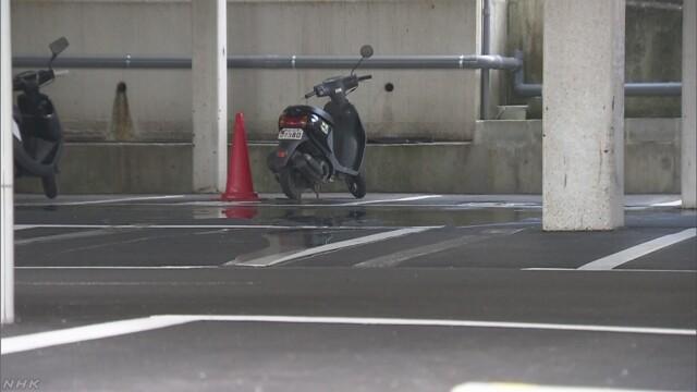 駐車場で寝ていた高校生が車にひかれ重体 神戸 | NHKニュース