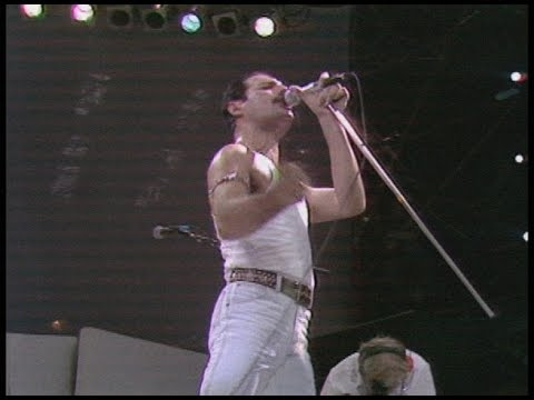 Queen - Live at LIVE AID 1985/07/13 [Best Version] [60fps] - YouTube