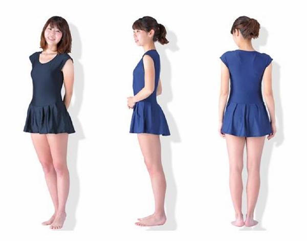 大人の女性もスクール水着に夢中?フリル付きで可愛く 120cm~6Lとサイズも豊富