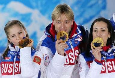 露フィギュア界の皇帝プルシェンコ、ソチ五輪のドーピングを完全否定 写真1枚 国際ニュース:AFPBB News