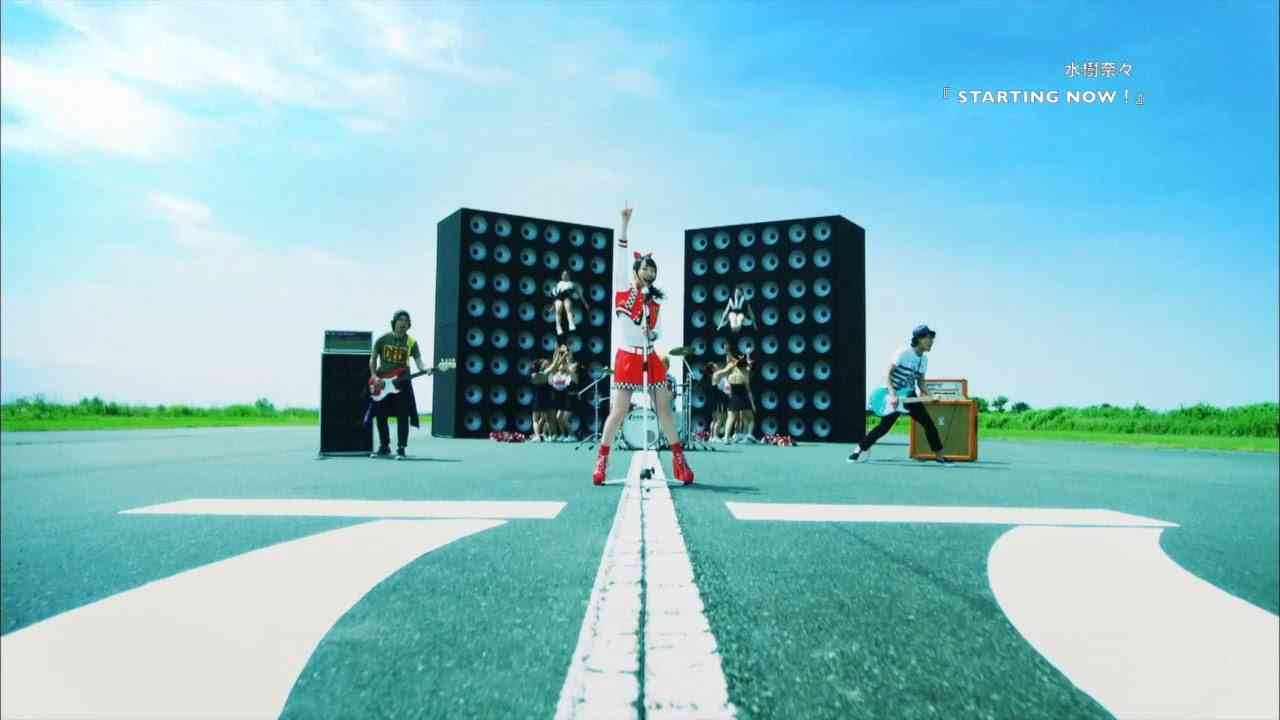 水樹奈々『STARTING NOW!』MUSIC CLIP(Short Ver.) - YouTube