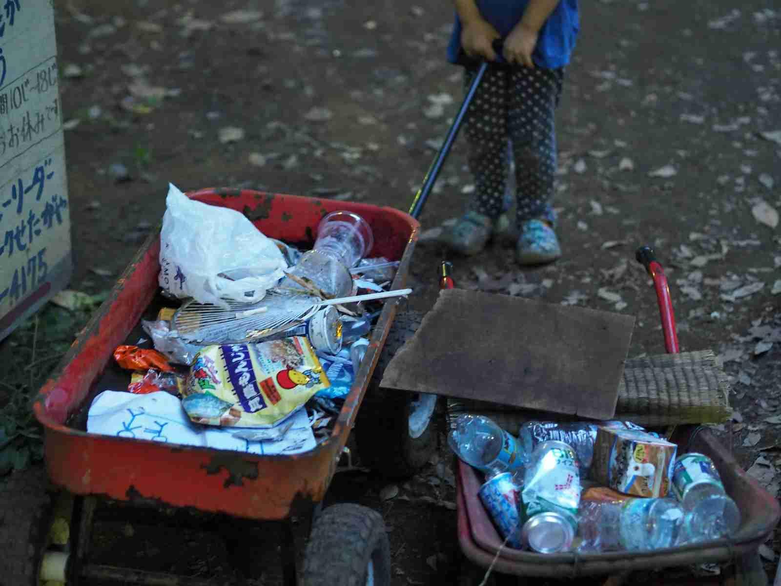 ポケモンGOでお祭り状態の世田谷公園でゴミ拾いをしてきた。 - 子連れでウロウロ… fal::diary