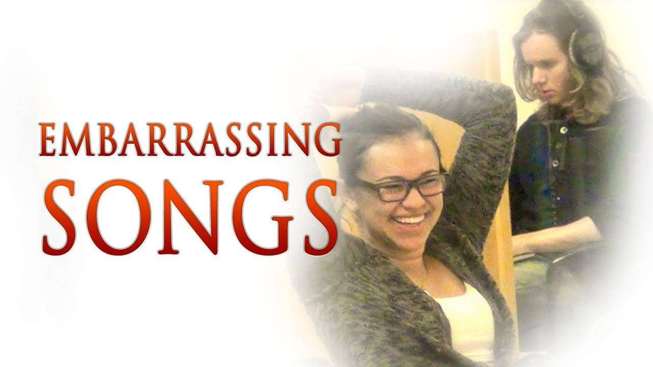 Accidentally Blasting Out Embarrassing Songs In Public - YouTube