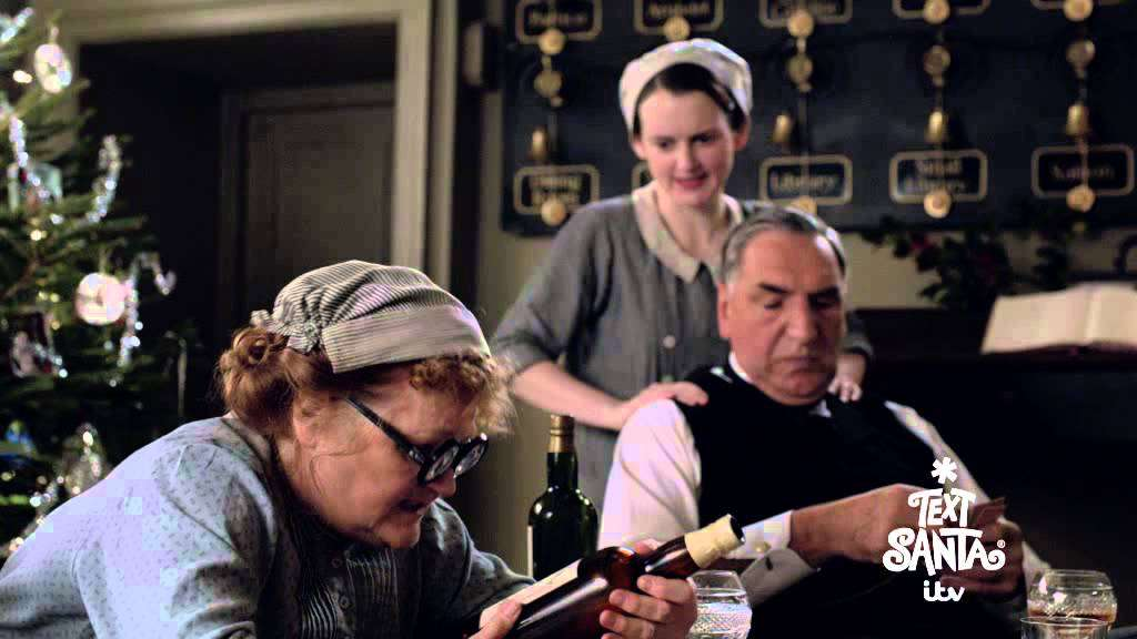 Downton Abbey For Text Santa - Part One - YouTube