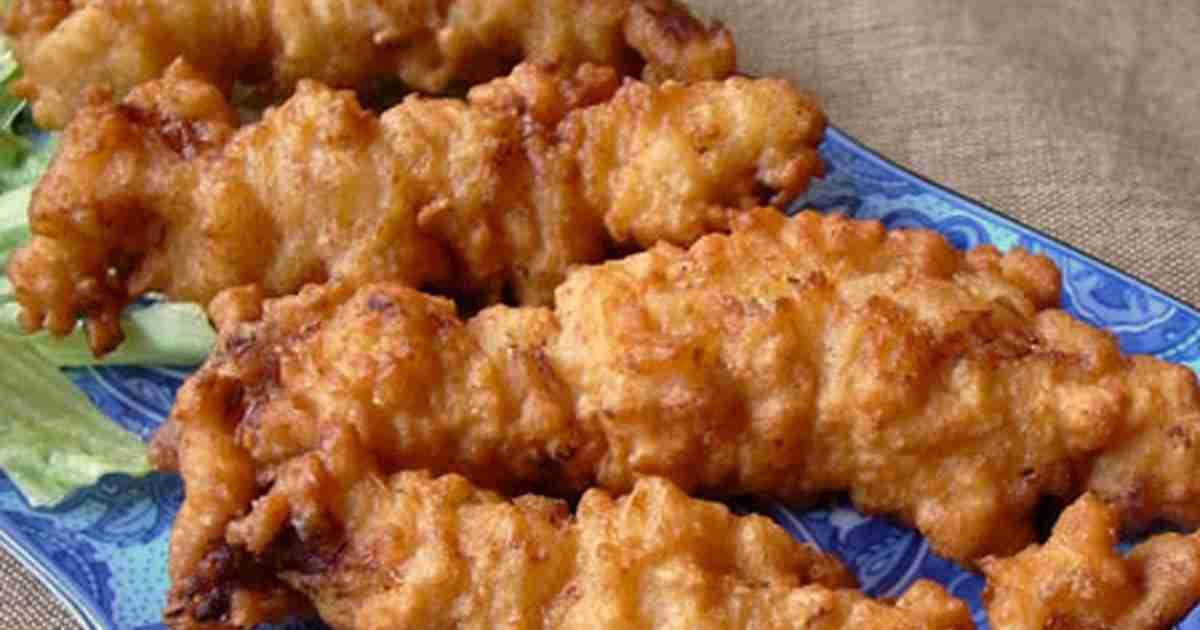 ウチの鉄板!鶏ささみのカリカリから揚げ by moj [クックパッド] 簡単おいしいみんなのレシピが243万品