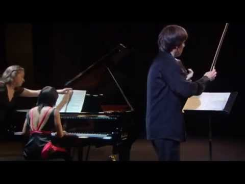 "Yuja Wang & Joshua Bell : Beethoven - Violin Sonata No. 9 ""Kreutzer"" Opus 47 - YouTube"