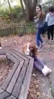 LiveLeak.com - Teenage Girl gets beaten by 2 other Girls ( Tübingen , Germany )