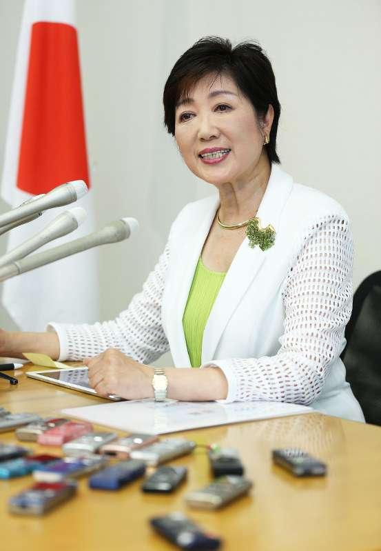 都知事選:小池氏、正式に出馬表明「しがらみなく戦える」 - 毎日新聞