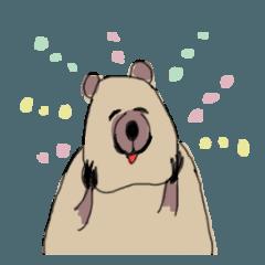 クアッカワラビーの世界一幸福な日々 - クリエイターズスタンプ
