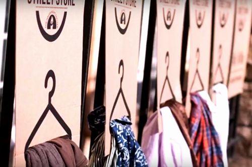 ホームレスのための「洋服店」世界中でオープン|幸せ経済社会研究所