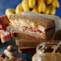 画像 : スタバから新サンド!バナナ&ベーコンてどんな味?(゚ω゚) - NAVER まとめ