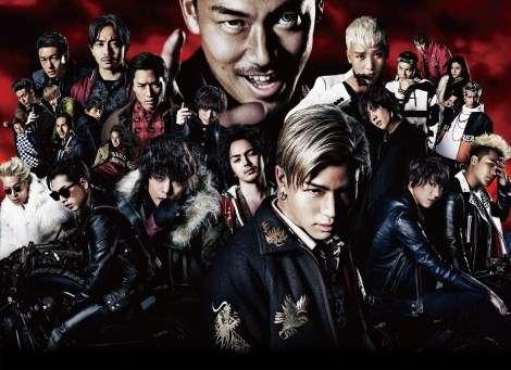 EXILE一族『HiGH&LOW』公開2日間で35万人動員   ORICON STYLE