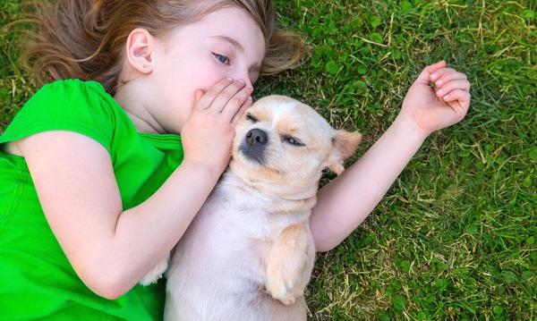 子供と動物の最強コラボ|おいもちゃんのブログ - 百戦百勝 伸るか反るか -