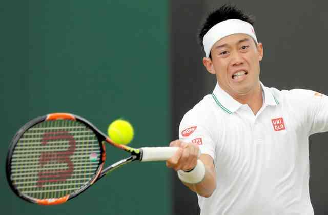 【テニス】錦織圭、2年ぶり4回戦に進出 ウィンブルドン選手権