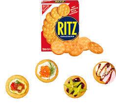 リッツやクラッカーに何をのせて食べてますか?