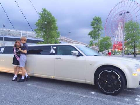 Limousine!!?♡|ぺこオフィシャルブログ「COTTON CANDY?」Powered by Ameba