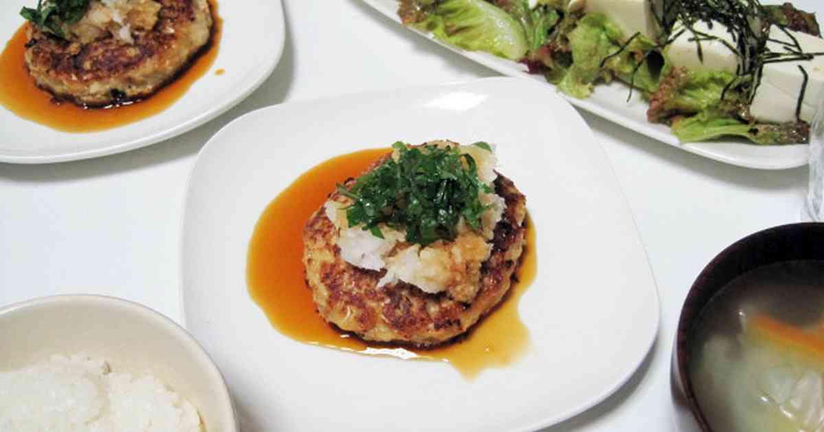 和風豆腐ハンバーグ by amota [クックパッド] 簡単おいしいみんなのレシピが243万品