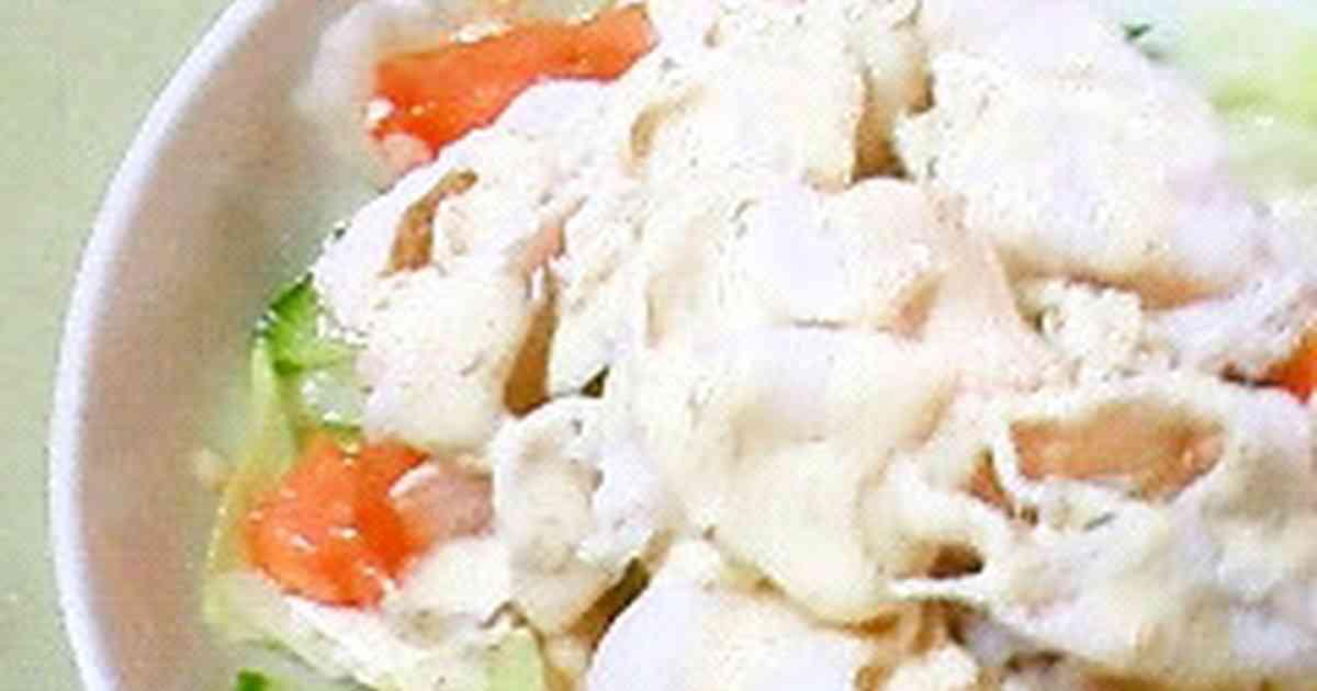 しっとりお肉の冷しゃぶサラダ   by あーべっち [クックパッド] 簡単おいしいみんなのレシピが242万品