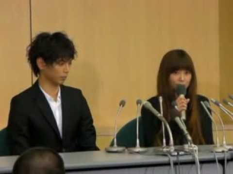 水嶋ヒロ、絢香結婚発表会見3 - YouTube