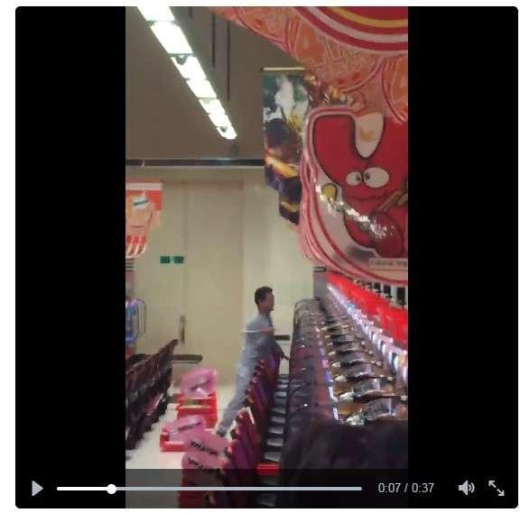 ハンマー男がパチンコ店襲撃 「台を壊しまくり」動画のド迫力 : J-CASTニュース