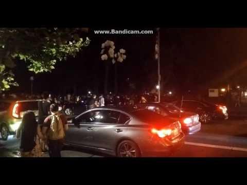 ポケモンGO レアポケモン シャワーズがNYセントラルパークに出現したときの様子 - YouTube