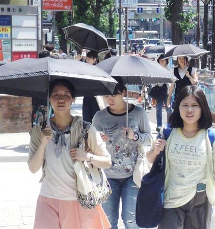 日傘文化、日本だけ? 驚く訪日女性客…欧米などは帽子や日焼け止め (産経新聞) - Yahoo!ニュース