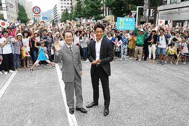 水谷豊&反町隆史、感無量!北九州で道路を12時間封鎖し「相棒 劇場版IV」撮了