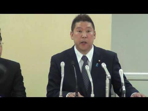 【東京都知事選挙】NHKから国民を守る党・立花孝志氏 出馬表明会見 - YouTube