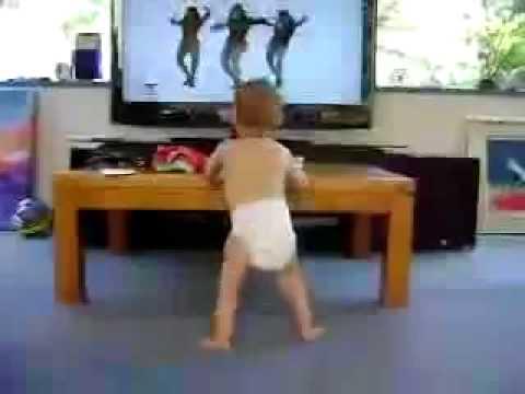 Baby Dancing to Beyonce- Single Ladies - YouTube