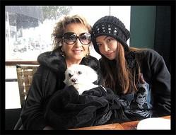 平子理沙がLAで母娘ショット 「ママ、かっこ良すぎ」と評判に