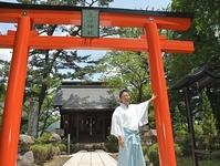 故郷に「恩返し」真田神社に鳥居 上田出身の男性、16日竣工祭 - 47NEWS(よんななニュース)