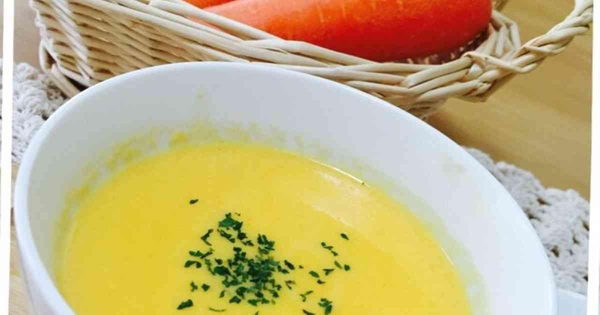 ミキサーで簡単♪飲みやすい人参スープ by グルーグルー [クックパッド] 簡単おいしいみんなのレシピが243万品