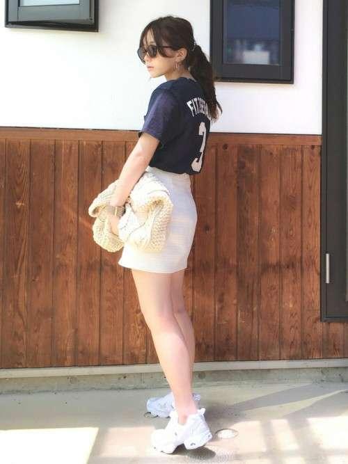 shiho THE SHINZONEのTシャツ/カットソーを使ったコーディネート - WEAR