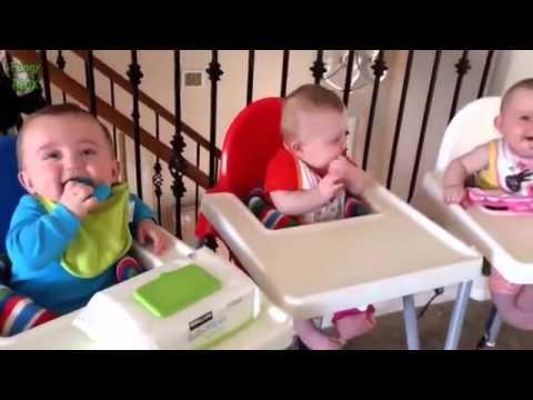 【海外赤ちゃん】3つ子ってこんなにかわいいの!?癒されまくる動画 - YouTube