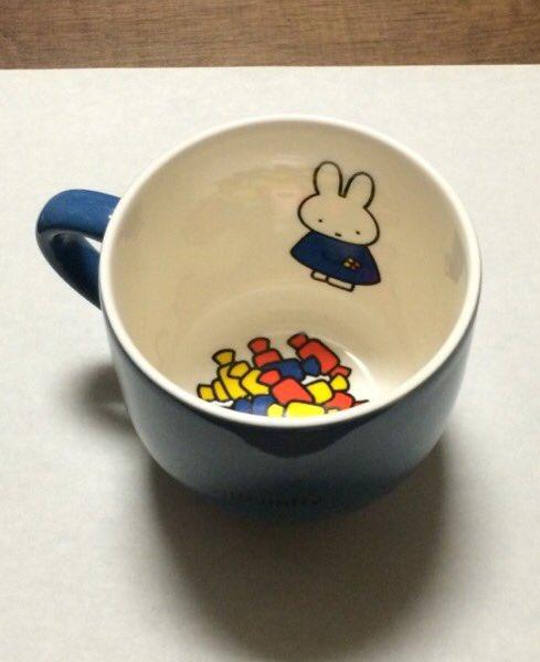 ミッフィー展で買った可愛いマグカップ、実は「鬱になる」絵だった…闇の深さが話題