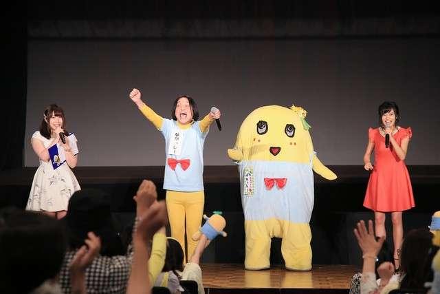 ふなっしー 小島瑠璃子&永野と「ラッセンが好き」をコラボ