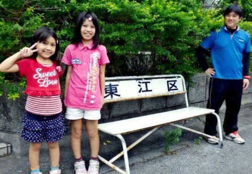 小学生姉妹の声届く バス停の壊れたベンチ直して→→役所へはがき - 琉球新報 - 沖縄の新聞、地域のニュース