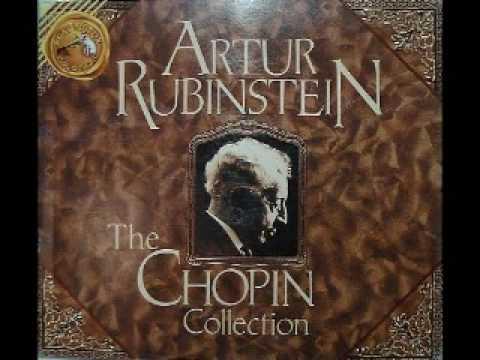 Arthur Rubinstein - Chopin Waltz Op. 69 No. 2 in B minor - YouTube