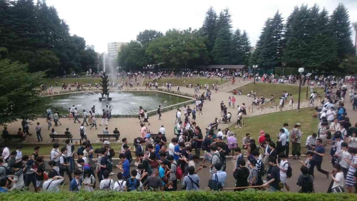 【悲報】世田谷公園にポケモンGOトレーナーが集結し、空き缶とタバコのポイ捨てだらけに