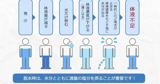 水だけを飲んでいてもダメ?大塚製薬の熱中症解説が分かりやすい! | netgeek