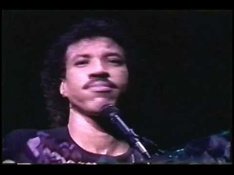 Lionel Richie - Say You, Say Me  (live '87) - YouTube