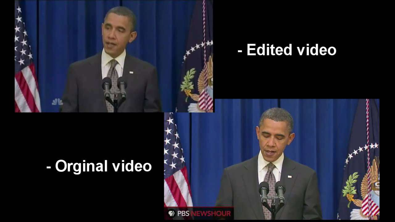 Obama Kicks Door Open [Original Video, Comparison] - YouTube
