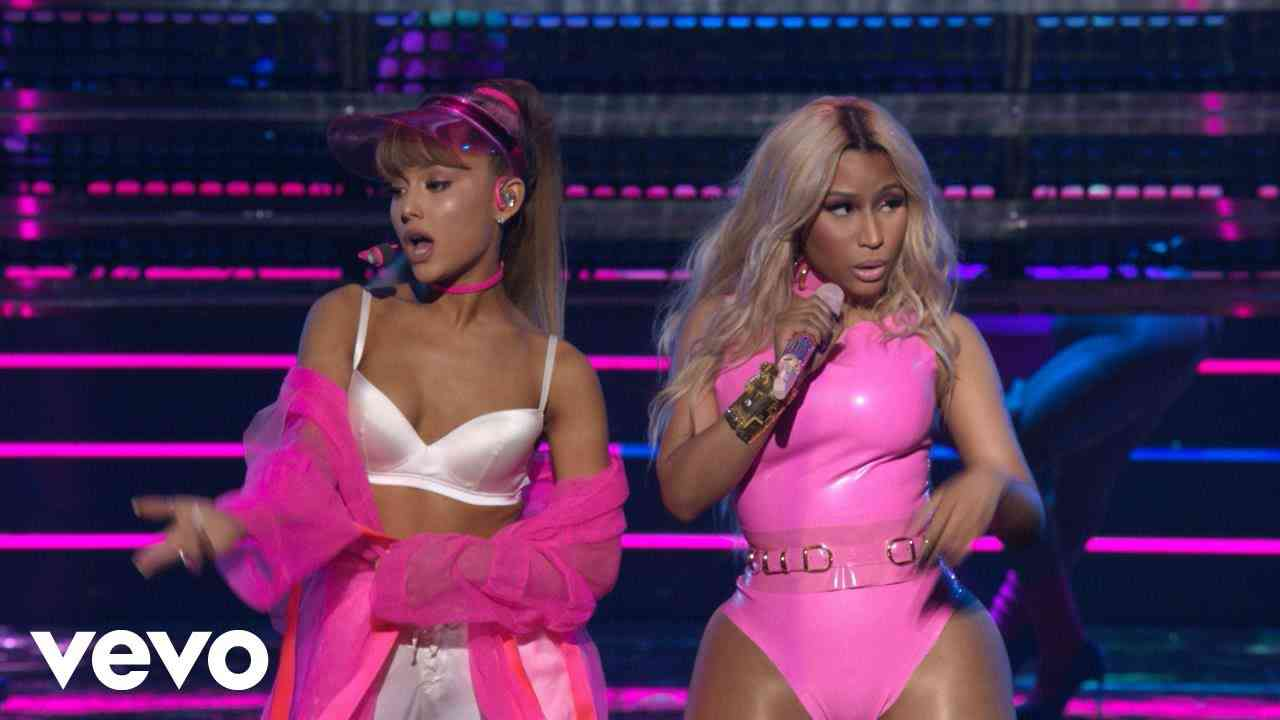 Ariana Grande - Side To Side (Live from the 2016 MTV VMAs) ft. Nicki Minaj - YouTube