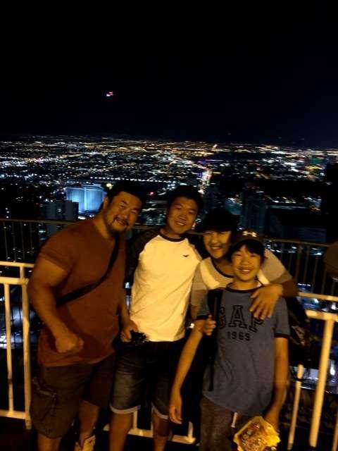 家族旅行の北斗昌